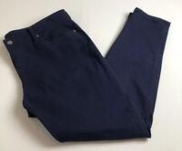Gap Women's Premium Super Skinny Jeans Sz 18 34R Dark Wash Stretch Casual Pocket