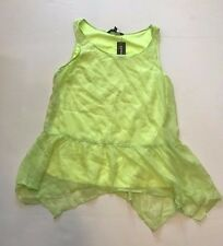 NEW WOMEN'S EXPRESS SLEEVELESS TOP SIZE MEDIUM NWT $44.90 STYLE# 2783 COLOR# 186