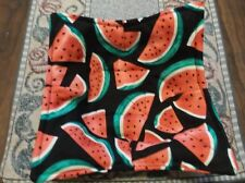Quilted Microwave Bowl Cozy - Watermelon Slices
