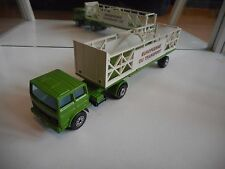 Solido Toner Gam Renault / Saviem H 875 + Trailer in Green/White