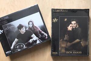 Set of 2 Twilight Jigsaw Puzzles : Kristen Stewart, Robert Pattinson : 1000 Pcs