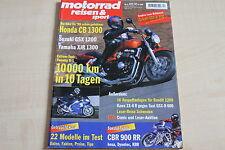 164820) Honda CB 1300 im Fahrbericht - Motorrad Reisen Sport 04/1998