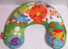 Fisher Price Comfort Vibe Play Wedge Rain Forest Friends Animals Euc Baby