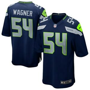 Seattle Seahawks Bobby Wagner #54 Nike Men's Official NFL Player Game Jersey