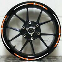 Wheel Rim Stickers Stripes KTM Duke 690 790 890 Choice of Orange or Black