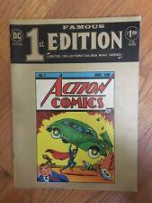 Action Comics Famous 1st Edition Limited Collectors' Golden Mint Series