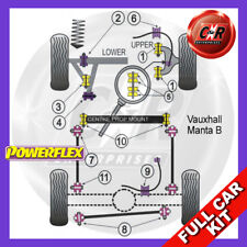Vauxhall / Opel Manta B (1982-1988) Powerflex Complete Bush Kit
