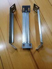 3 Stück Montagewinkel - Winkelverbinder, verzinkt