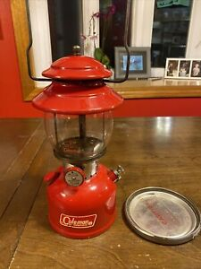 1965 Coleman Lantern 200a With Parts Safe