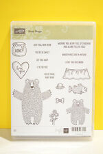 NEW RETIRED Stampin Up Bear Hugs Love You Papa For You Mother Baby Bear Fish