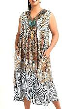 Plus Sz L / 22 TS Taking Shape Paradise Dress STUNNING Tropical RP