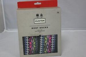 HUNTER Original Tall Boot Sock Size M