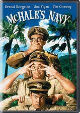 NEW  DVD - McHALE'S NAVY - THE MOVIE - Ernest Borgnine, Joe Flynn, Tim Conway,