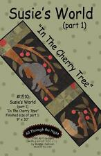 Susie's World In the Cherry Tree 1510 Cat Quilt Pattern All Through the Night