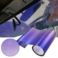 Purple Sun Visor Strip Tint Film Car Front Windshield UV Shade Banner 20x150CM