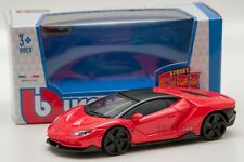 Lamborghini Centenario in Red, Bburago 18-30382, scale 1:43
