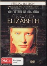 ELIZABETH - BRAND NEW & SEALED DVD (CATE BLANCHETT, JOSEPH FIENNES) SPECIAL ED'N
