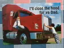 50 Postcards Little Lee Comic Trucking I'll Close the Hood for Ya Dad
