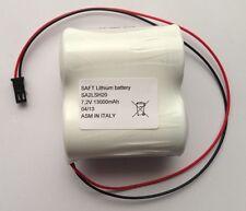 Saft 2LSH20TY  7,2V 13Ah  Pacco batterie al Litio compatibile BEGHELLI
