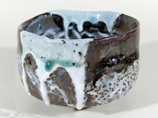 CHAWAN ° Japan Keramik Teegefäss ° Laufglasur ° signiertes Unikat ° Kerstan Stil