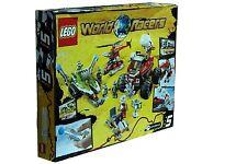 Lego WORLD RACERS #8863 Blizzard's Peak Building Toy Set Non-Mint Box