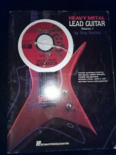 Heavy Metal Guitar Lead Guitar Vol #1 by Troy Stetina