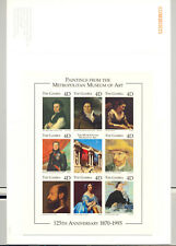 Gambia #1717 Art 1v M/S of 8 Imperf Chromalin Proof Mounted in Folder
