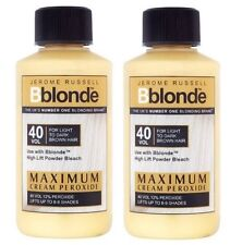 2 X Jerome Russell Bblonde Cream Peroxide 40vol 12%