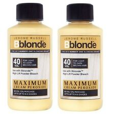 2 X Jerome Russell Bblonde Cream Peroxide 40vol 12%