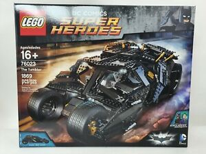 LEGO Super Heroes Batman The Tumbler (76023) New - Check Box Condition in Photos