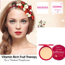 BOURJOIS Healthy Balance Compact Face Powder 52 Vanilla All Natural Ingredients