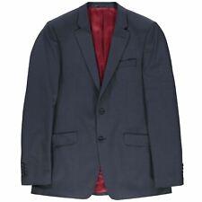 Jonathon Charles Mens Ashdown Mix Suit Jacket Coat Top Long Sleeve Fold Over