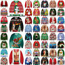UGLY XMAS CHRISTMAS SWEATER Vacation Santa Elf Cat Popular Women Men Sweatshirt