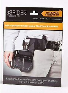 SpiderHolster SpiderPro ThinkTank Steroid Adapter Kit #417 Free shipping