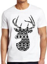 Aztec Deer T Shirt Vintage Stag Design Cool Tee 17