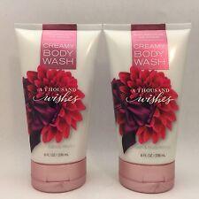 2 Bath&Body Works A Mil Deseos en crema gel de baño 8 fl.oz 236 ml
