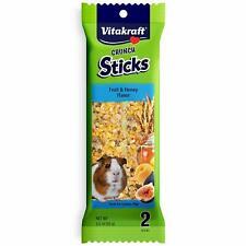 Vitakraft Guinea Pig Sticks And 3.5-Ounce Bag, 2 Sticks