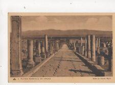 Ruines Romaines Timgad Voie Du Cardo Nord Algeria Vintage Postcard 292b