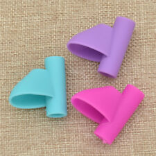 3pcs Kid Soft Silicone Pencil Holder Pen Grip Writing Posture Corrector Device