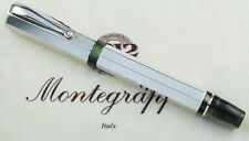 Montegrappa Sterling Silver Smooth Eleganza Large Size Rollerball Pen