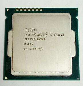 CPU Intel Xeon Prozessor E3-1230 v3 Quad Core @ 3,3 Ghz SR153 Socket 1150