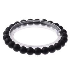 Fashion 8MM Natural Stone Beaded Stretch Energy Charm Bracelets Charm Jewelry