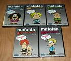 Mafalda 40º Jubiläum Vol. 1-5 Neu Versiegelt DVD Animation (Ohne Offen ) R2