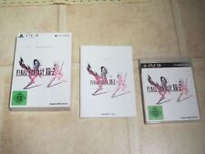 Final Fantasy XIII-2 Limited Collector´s Edition für Playstation 3 PS3 PS 3 OVP