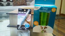 Dog Toothbrush Clean Stick Pet Brush Mouth Chewing Cleaning & Reach Whitener ~