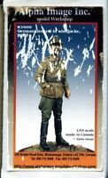 Alpha Image Inc 1:35 German General in Windjacke WWII Resin Figure Kit #W35008U