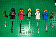 LEGO Minifigure Ninjago Rebooted Collection Kai Jay Lloyd Cole Zane Fire!
