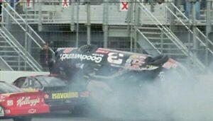 1997 Dale Earnhardt Sr #3 GM Goodwrench Crash Car Chevy 1:24 NASCAR Action