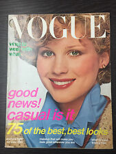 VOGUE Magazine August 1976