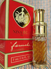 Vintage early 90s Farouche Nina Ricci 1/4 oz 7 ml Pure Parfum Spray OLD FORMULA